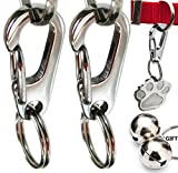 Petdesign Stainless Steel Dog Tag Quick Clip - For Dogs and Cats (Small)