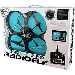 ODS Radiofly - Space Light Pro // 60 - drones con cámara (Negro, Turquesa, Polímero de litio, AA)