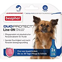 DuoProtect Hund (< 15 kg)   Pflege &#038; Schutz für Hunde   Physikalische Parasitenabwehr   Mit Dimeticon &#038; Aleo Vera   Wirkt bis zu 30 Tage   3 x 1,5 ml