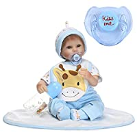 Bouder Lovely Magnet Pacifier Cute Bear Magnetic Dummy Nipple Reborn Doll Accessories for Newborn Baby Dolls 4 Styles Available