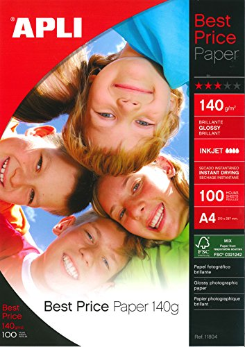 Apli Best Price Photo Paper Glossy 140gsm A4