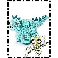 PUZZLE BALL MONTESSORI DINO GANCHILLO AMIGURUMI PERSONALIZABLE (Bebé, crochet, ganchillo, muñeco,