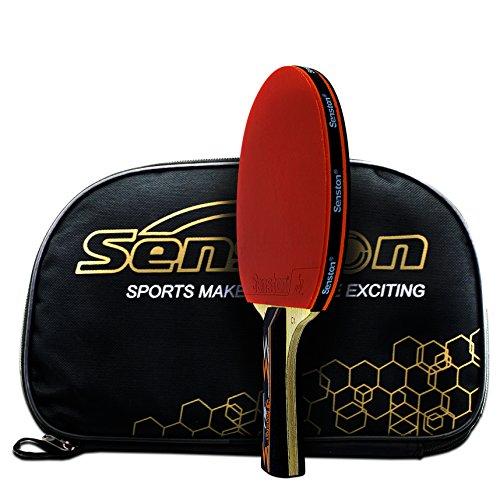 Senston Raquette de ping-pong approuvée par ITTF,...