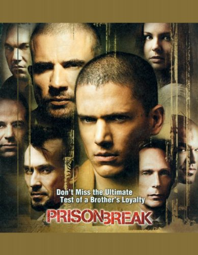 Click for larger image of Prison Break (TV) 11x17 Inch (28 x 44 cm) Movie Poster