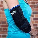MEGLIO Coudière en néoprène–avec design respirant–Prise en charge de tennis et du coude–Soulagement contre les Tendinites et l'arthrite–Taille Unique