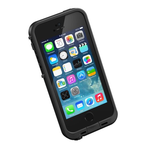LifeProof iPhone 5s Fall - Fre Serie, One Size, schwarz/schwarz