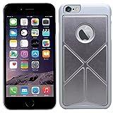 SAMRICK Multi-funktionale Origami Faltung Ständer Schutzhülle Schutzhülle für Apple iPhone 6 Plus/6S Plus - Silber (Silver)