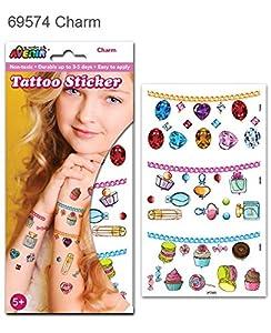 Avenir- Tatuaje Grande Surtido, Color Coloreado (AVE69574)