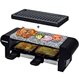 Syntrox Germany Edelstahl Design Raclette