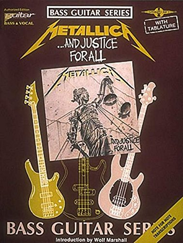 Metallica - ...and Justice for All (Bass Guitar)