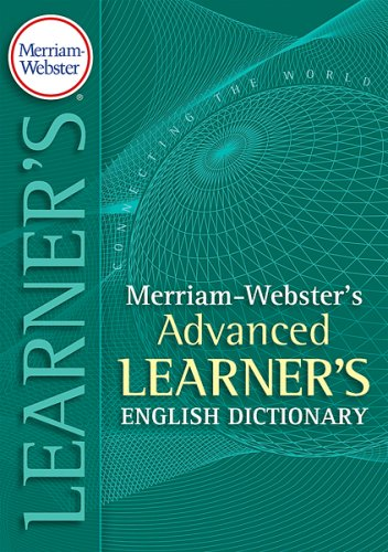 Merriam-Websters Advanced Learners Dictionary (English Edition ...