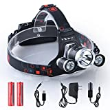 Best Backpacking Headlamps - i-Mate Waterproof LED 6000lm Bright Headlight Headlamp Flashlight Review