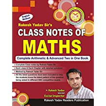 Class Notes of Maths: (Handwritten Notes)