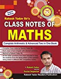#5: Class Notes of Maths: (Handwritten Notes)