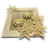 Smart Creations Ring Platter For Wedding/Engagement / Ring Ceremony/Ring Holder/Tray