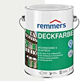 Remmers Deckfarbe - weiß 750ml