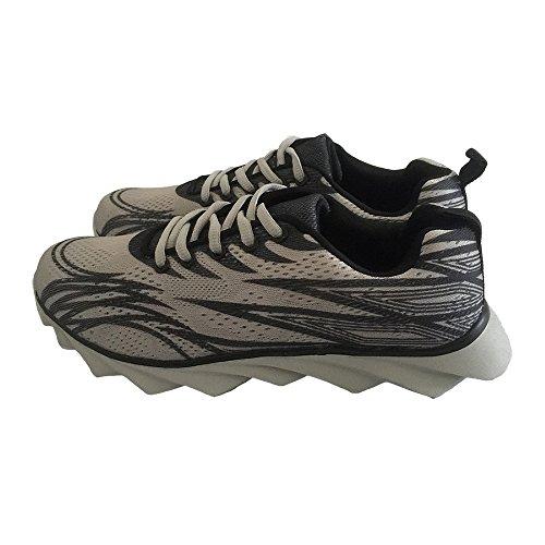 Herren Damen Erwachsene Sneakers Turnschuhe Freizeitschuhe Laufschuhe Sportschuhe Grau