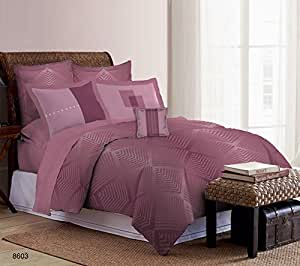 Bombay Dyeing Urban Living Premium Cotton Double 6 Piece Bedding Set - Multicolor (80860301)