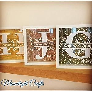 ausgefallenes Hochzeitsgeschenk, Gästebuch, Sandzeremonie - Weinkorkensammler in Weiss mit eurem Monogramm (Logo etc auf Anfrage )