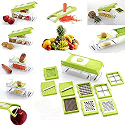 Nestwell Premium Super Dicer Fruit & Vegatable Multi Chopper, Chipser, Slicer Grater 16 in 1