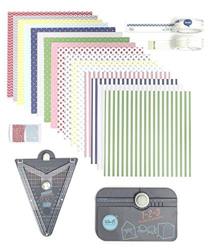 We R Memory Keepers 411013 Punchboard Pack, Mehrfarbig