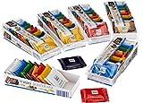 Ritter Sport Mini Knackig-Bunter Mix, 6er Pack (6 x 150 g Packung)