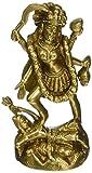 ShalinIndia Göttin Kali Metall Messing Skulptur 5,1x 5,1x 11,4cm