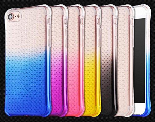 Hosaire 1x Handy Schale Hülle Schutzhülle für Apple iphone 6/6s Kreative Farbe Phone Silikon Soft Case Schützend Schutzhülle Apple Phone Shell Rosa