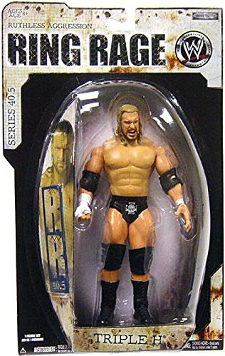 WWE Ruthless Aggression Wrestling 40.5 Action Figur - Triple H (Wwe Action-figuren Triple H)