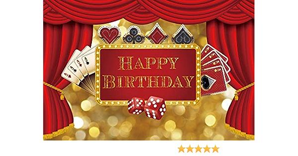 Edcott 7 X 5 Ft Las Vegas Geburtstag Kulisse Casino Kamera