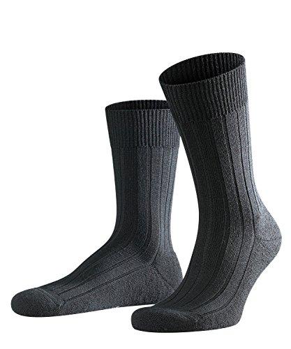 FALKE Teppich im Schuh Herren Socken black (3000) 43-44 mit Plüschsohle