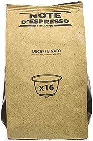 Note D'Espresso Cápsulas de Café Descafeinado - 48 x 7 g, Total: 3