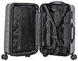 Packenger Premium Koffer, Trolley, Hartschale  Vertical Größe M in Anthrazit-Metallic.   ca. 52x35x24cm - 3