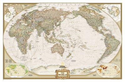 affiche-geante-national-geographic-carte-du-monde-politique-planisphere-mappemonde-taille-185-x-122-
