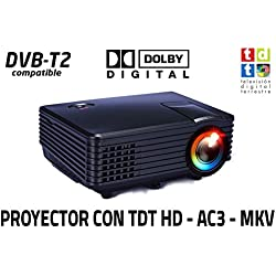 Luximagen SV100, Proyector con TDT HD/ USB/ HDMI/ VGA/ AC3