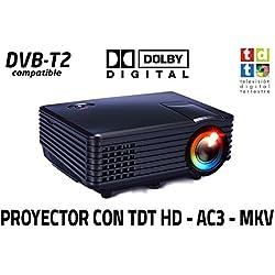 Luximagen SV100 (Negro) con TDT HD, USB, HDMI, VGA, AC3 [España]
