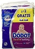 Toallitas Dodot Activity, Pack of 3 x 4 (648 toallitas )
