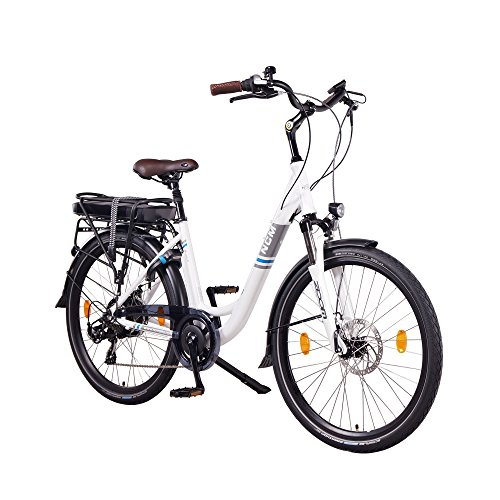 NCM Munich 36V, 26″ / 28″ Zoll Elektrofahrrad, Herren & Damen Pedelec, E-Bike City Rad, 250W Bafang Heckmotor, 13Ah 468Wh Lithium-Ionen-Akku, mechanische Scheibenbremsen