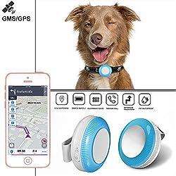 TKMARS Traceur GPS pour Enfant Chien Chat TK925 GPS Tracker Localiser pour Enfant Personne Âgée,localisateur avec Application Gratuite (TK925)