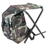 Seasaleshop Wanderrucksack Backpacker Rucksack Backpacking Rucksack Stuhl Rucksack Camouflage Falten...