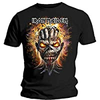 Onbekende mannen Iron Maiden Eddie Exploding Head korte mouw T - Shirt