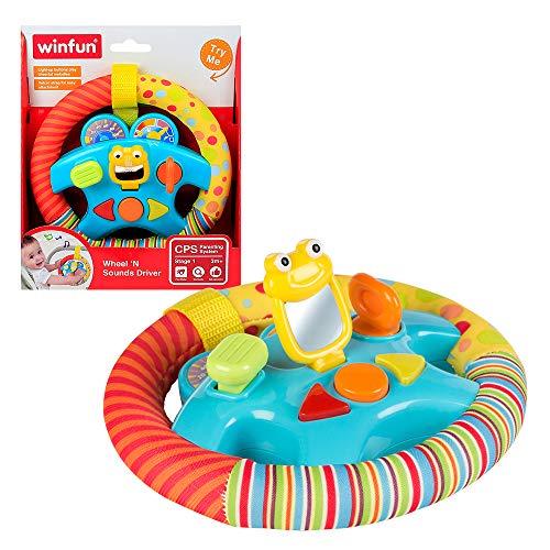 winfun - Volante de sonidos para bebés (44231)