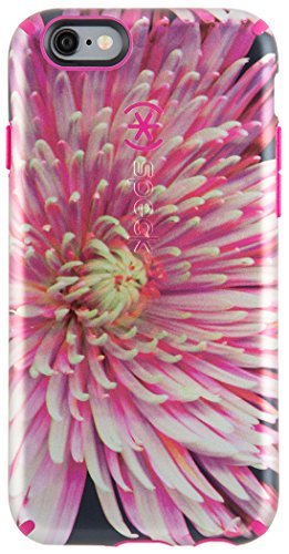 Speck CandyShell Inked Luxury - Funda para iPhone 6 Plus/6S Plus, Multicolor ( Hypnotic Bloom/Fuchsia Pink )