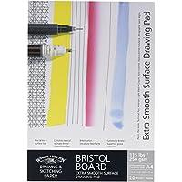 Winsor & Newton - Cartulina para dibujo extra suave (A4, engomado)