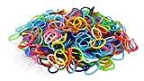 3000 élastiques multicouleur + 100 clips création bracelet style Rainbow Loom
