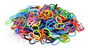 Loom Bandz - Rainbow Colours - Colourful Assortment 600 Count by Loom Bandz