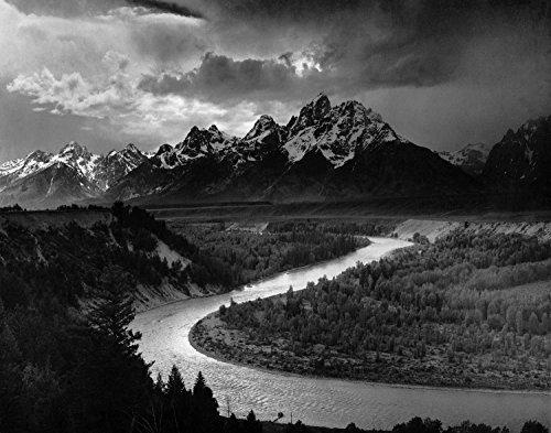 ArtDash? Foto Kunst Kunstdruck berühmten historischen Bild: Ansel Adams The Tetons und die Schlange River 8