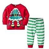 Prima Infanzia,Natale Abbigliamento Bimbo,T-Shirt, Polo e Top,18 Mesi,Rosso