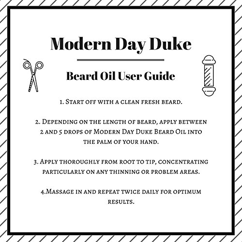 Beard-Oil-and-Beard-Conditioner-for-Men-Modern-Day-Duke-Beard-Oil-XL-100ml-Conditioner-and-Moisturiser-with-Argan-Oil-Cedarwood-and-Lime-The-Best-Beard-Oil-for-a-Thicker-Fuller-Softer-Beard