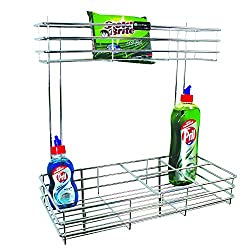Stainless Steel Detergent Holder/Rack/Stand (Size : 8W X 18D X 18H inches)